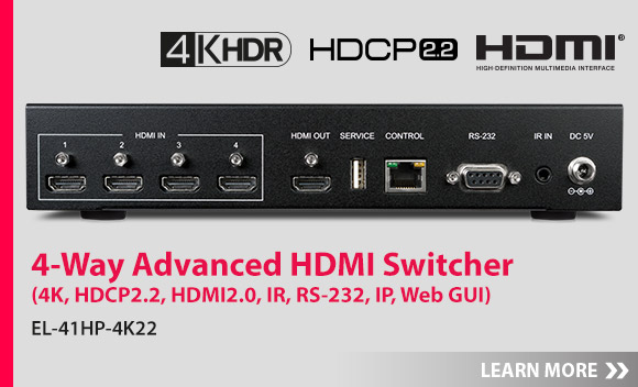 Click here for more information about our new HDBaseT Lite Matrix