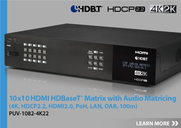 Click here for more information about our new HDBaseT 2.0 Extenders